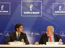 Arturo Romaní y Antonio Beteta, este viernes en Toledo