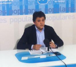 Rueda de prensa de Leopoldo Sierra