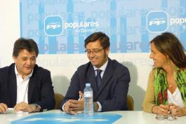 Arturo Romaní en la Sede del Partido Popular de Daimiel