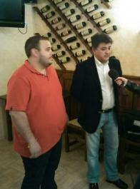 Leopoldo Sierra y Emilio Giménez