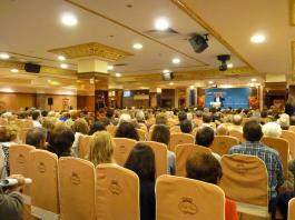 Gran afluencia de publico en la presentación