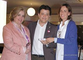 Carmen Fúnez y Teresa Novillo en una Jornada sobre Igualdad