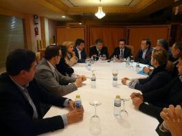Reunión comarcal del Partido Popular